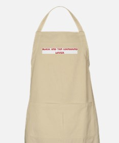 Black and Tan Coonhound lover BBQ Apron