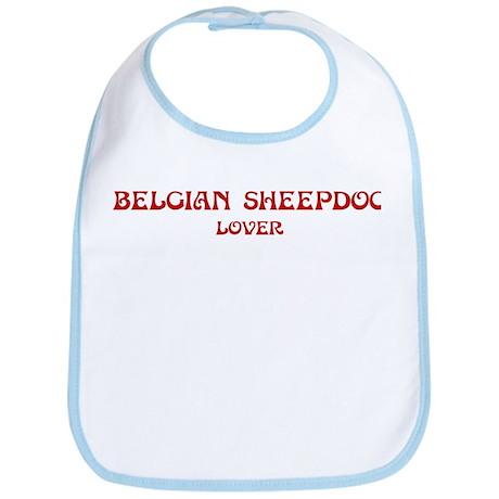 Belgian Sheepdog lover Bib