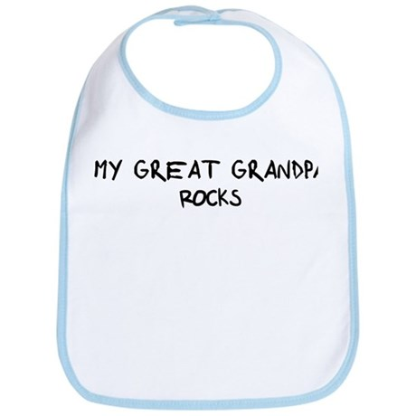 Great Grandpa Rocks Bib