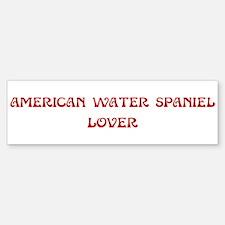 American Water Spaniel lover Bumper Bumper Bumper Sticker