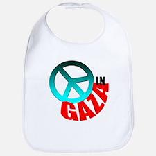 Peace in Gaza Bib