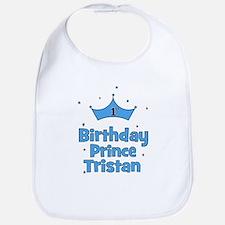1st Birthday Prince Tristan Bib