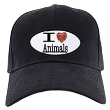 I Heart Animals Baseball Hat