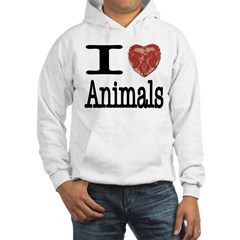 I Heart Animals Hoodie
