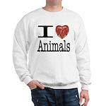 I Heart Animals Sweatshirt