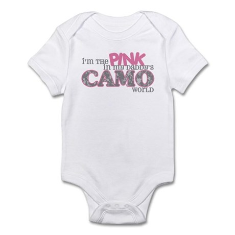 I'm the pink (ACU) Infant Bodysuit