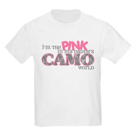 I'm the pink (ACU) Kids Light T-Shirt