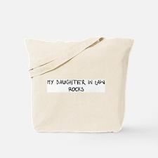 Daughter In Law Rocks Tote Bag