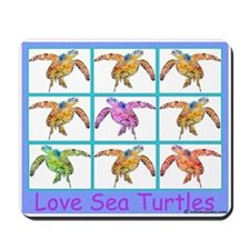 Sea Turtle Designs Mousepad