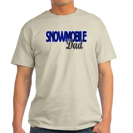 Snowmobile Dad Light T-Shirt