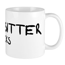 Babysitter Rocks Mug