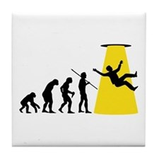 Beam Me Up Tile Coaster