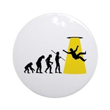 Beam Me Up Ornament (Round)