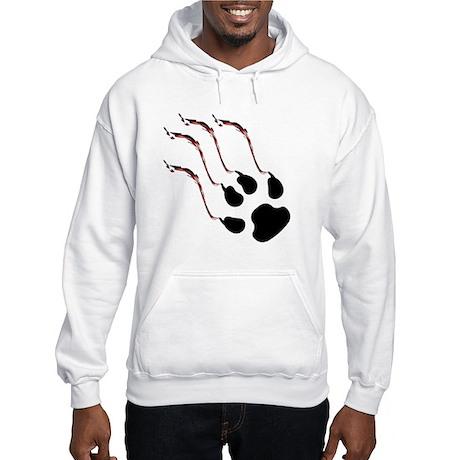 Clawed Hooded Sweatshirt
