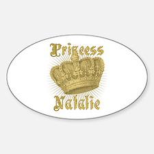 Vintage Princess Natalie Personalized Decal