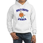 Baketball Coach Hooded Sweatshirt