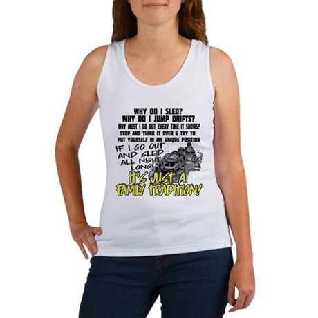 Snowmobile Family Tradition Women's Tank Top