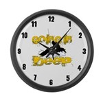 Going in Deep Large Wall Clock