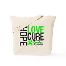 NonHodgkinHopeLoveCure Tote Bag