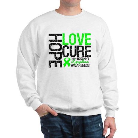 NonHodgkinHopeLoveCure Sweatshirt
