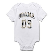 Barack Obama camo 09 Infant Bodysuit