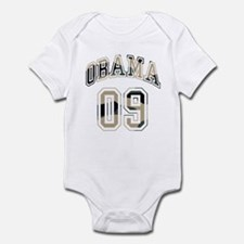 Barack Obama camo 09 Infant Bodysuit