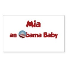 Mia - Obama Baby Rectangle Decal