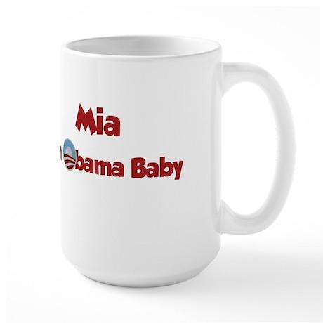 Mia - Obama Baby Large Mug