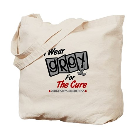 I Wear Grey For The Cure 8 PD Tote Bag