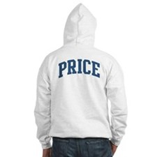 Price Collegiate Style Name Hoodie