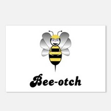 Robobee Bumble Bee Bee-otch Postcards (Package of