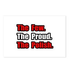 """Few. Proud. Polish."" Postcards (Package of 8)"