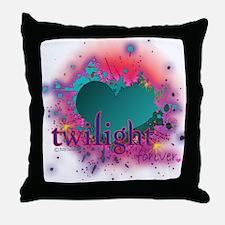 Twilight Forever Blue Throw Pillow