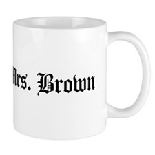 Soon 2 Be Mrs. Brown Mug