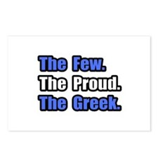 """Few. Proud. Greek."" Postcards (Package of 8)"