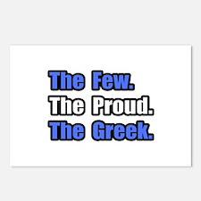"""""""Few. Proud. Greek."""" Postcards (Package of 8)"""