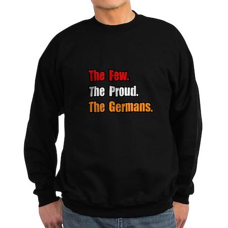 """Few. Proud. Germans."" Sweatshirt (dark)"