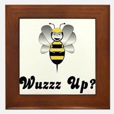 Robobee Bumble Bee Wuzz Up Framed Tile