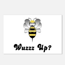 Robobee Bumble Bee Wuzz Up Postcards (Package of 8