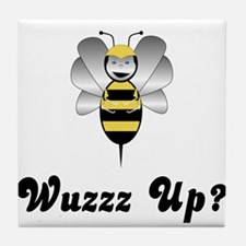 Robobee Bumble Bee Wuzz Up Tile Coaster