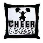 Cheerleading Throw Pillow