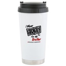 I Wear Grey For My Brother 8 PD Travel Mug