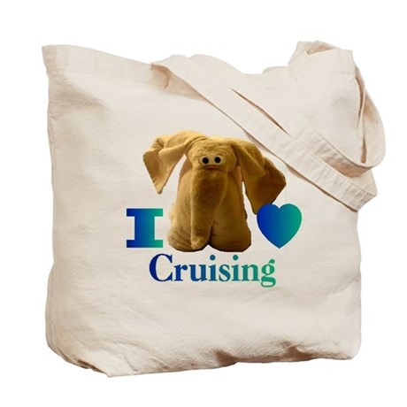 Bow of a Cruise Ship Tote Bag
