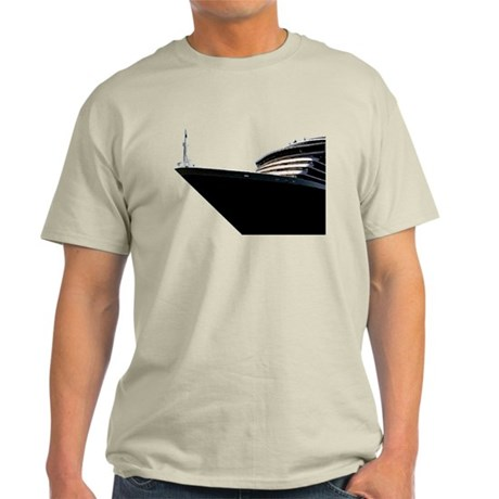 Bow of a Cruise Ship Light T-Shirt