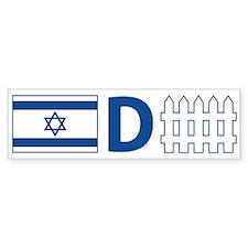 Israel Defense Bumper Bumper Sticker