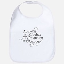 A FAMILY THAT FARTS TOGETHER Bib