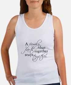 A FAMILY THAT FARTS TOGETHER Women's Tank Top