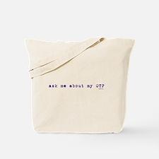 Violet OTP Tote Bag