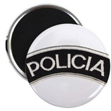 """Policia 2.25"""" Magnet (10 pack)"""