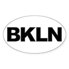 BKLN (BROOKLYN, NY) Oval Decal